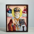 """Панно """"Икона Святой Николай"""", цветная 40х50см"""