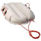 """Санки надувные """"Air bag""""/Санки-волокуши одноместный тюбинг, ТM """"Fani Sani"""", 80х50 см"""