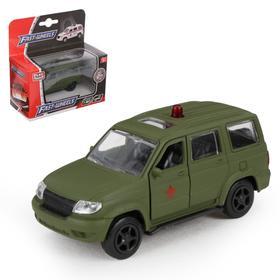Машина металлическая «Военный», масштаб 1:50, инерция