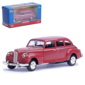 """Машина металлическая """"Лимузин"""", масштаб 1:43, бордовый, инерция"""