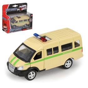 Машина металлическая «Микроавтобус Инкассация», масштаб 1:50, инерция