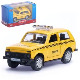 """Машина металлическая """"Джип Такси"""", масштаб 1:50, инерция"""