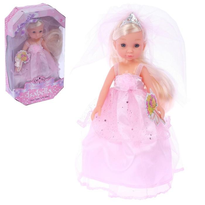 Кукла «Изабэлла» в свадебном платье. МИКС