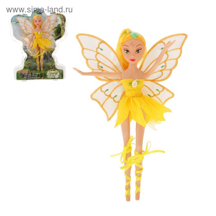 """Кукла фея """"Анна"""" в платье"""