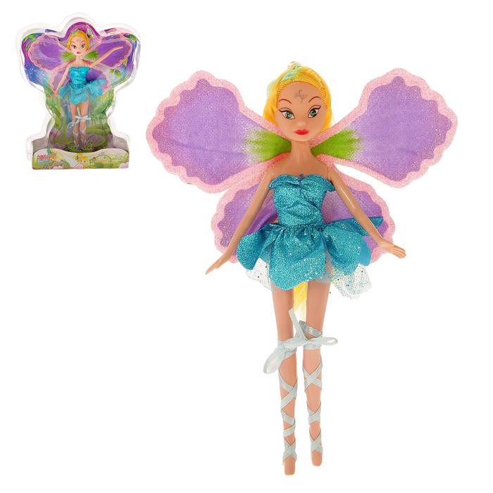 Кукла сказочная фея «Флора» в платье