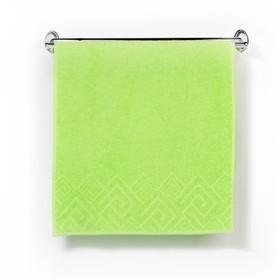 Полотенце махровое «Poseidon», 50х90, цвет зелёный