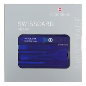 Швейцарская карточка VICTORINOX SwissCard Classic 0.7122.T2, 10 функций