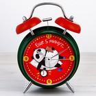 """Часы будильник """"Еще 5 минут.."""", d=11 см"""