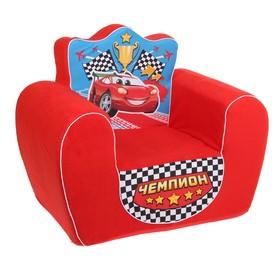 Мягкая игрушка «Кресло: Чемпион», цвет красный