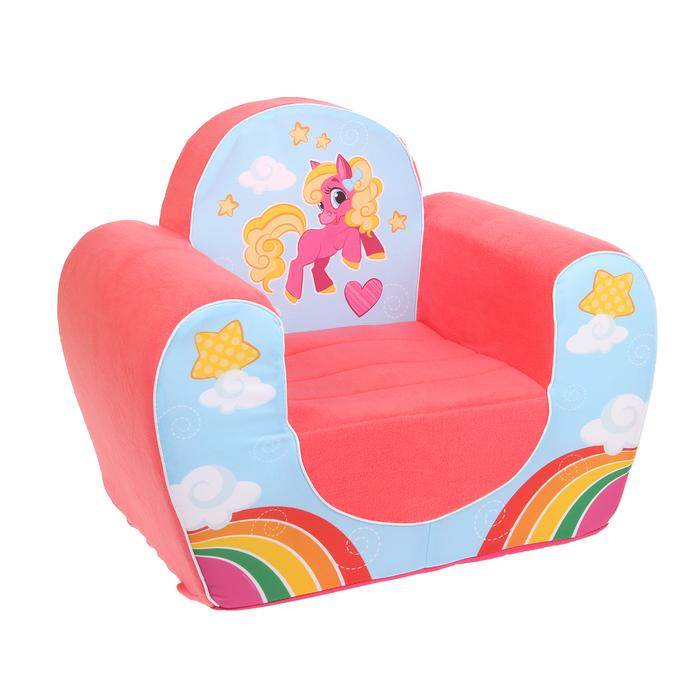 """Мягкая игрушка-кресло """"Пони"""""""