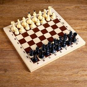 "Шахматы ""Айвенго"" (доска дерево 43х43 см, фигуры пластик, король h=10 см)"
