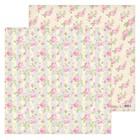 Бумага для скрапбукинга «Цветочные мечты», 30,5 х 30,5 см, 180 г/м