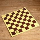 Шахматное поле из микрогофры, 40 ? 40 см