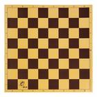 Шахматная доска из микрогофры  40х40см