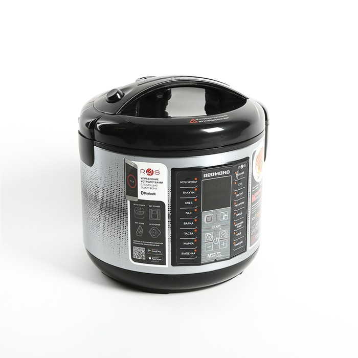 Мультиварка REDMOND RMC-M40S, 700 Вт, 5 л, 17 программ, Bluetooth