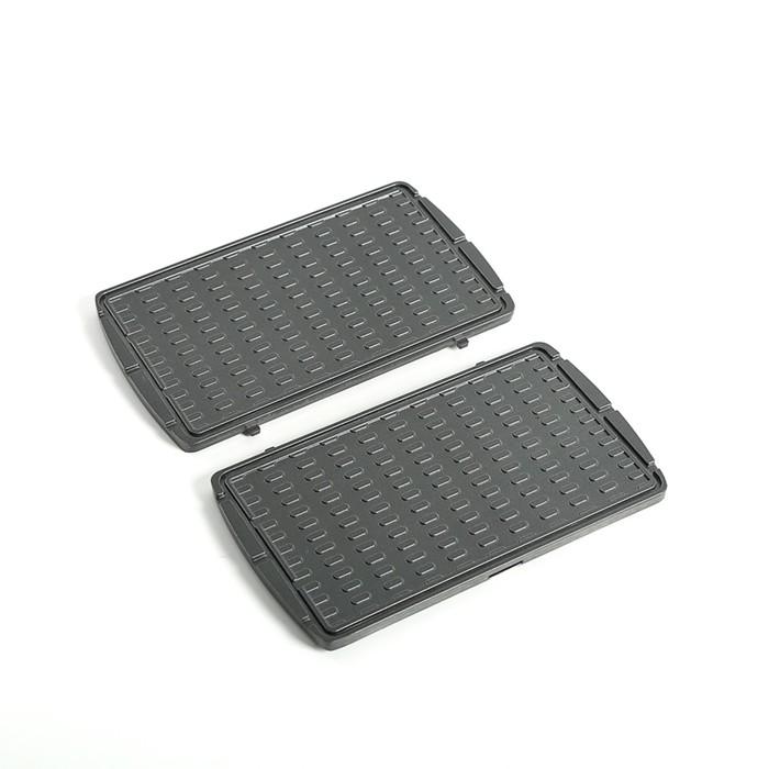 Панель для мультипекаря REDMOND RAMB-19, тонкие вафли, антипригарное покрытие, чёрная