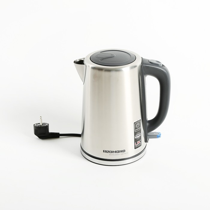 Чайник электрический REDMOND RK-M1441, 2150 Вт, 1.7 л, металл, серебристый