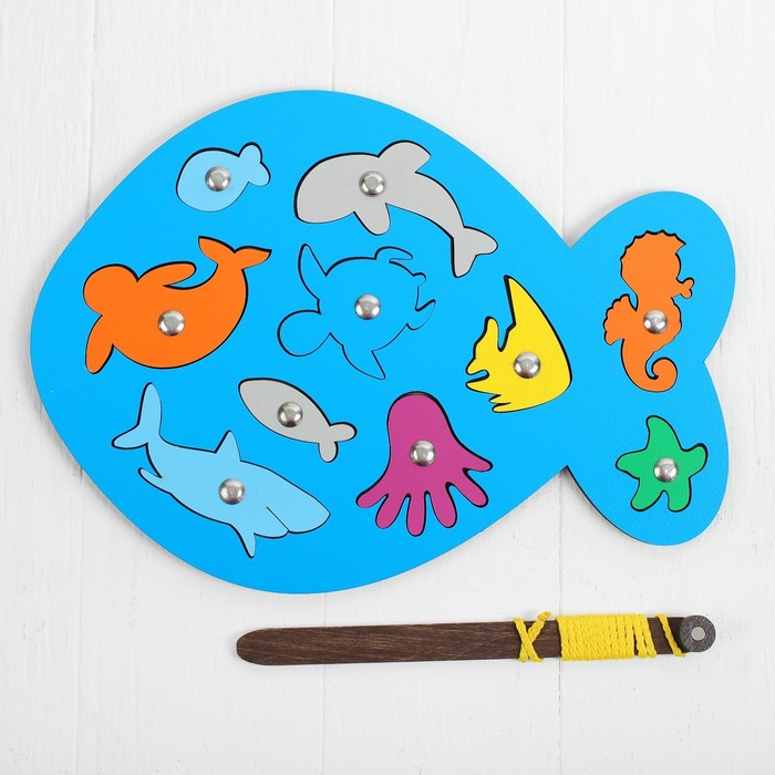 Магнитная рыбалка «Рыбка» МИКС