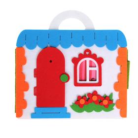 """Коврик-игралка """"Кукольный домик"""", высота куклы — 11 см"""