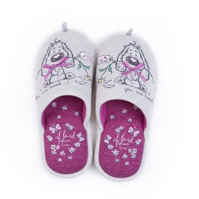 Обувь домашняя женская 2630 W-LMC-W (серый) (р. 37)