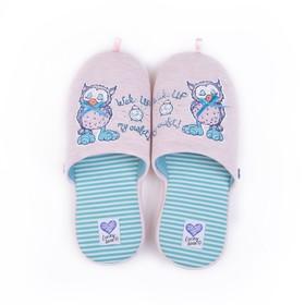 Обувь домашняя  женская 2614W-ASC-W (розовый) (р. 37)