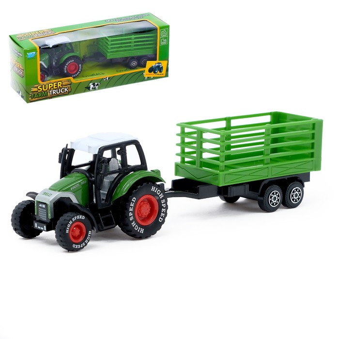 Трактор «Фермер», металлическая кабина, МИКС