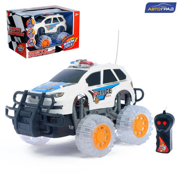 """Машина радиоуправляемая """"Полиция"""", работает от батареек, свет"""
