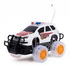 Машина радиоуправляемая «Полиция», работает от батареек, свет - фото 1012232