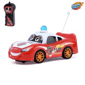 Машина радиоуправляемая «Полицейский патруль», работает от батареек