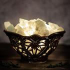"""Соляной светильник """"Сердце"""" керамика 10 х 12 см"""