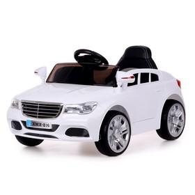 Электромобиль «Престиж», 2 мотора, EVA колеса, активная подвеска, цвет белый