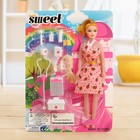 Кукла модель «Рина» в платье с аксессуарами, МИКС - фото 106573805