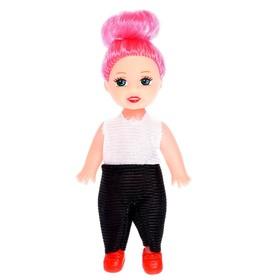 Куклы малышки «Сестрёнки» в костюмчиках, 3 штуки, МИКС