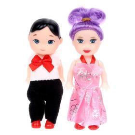 Куклы малышки «Люба и Гриша»