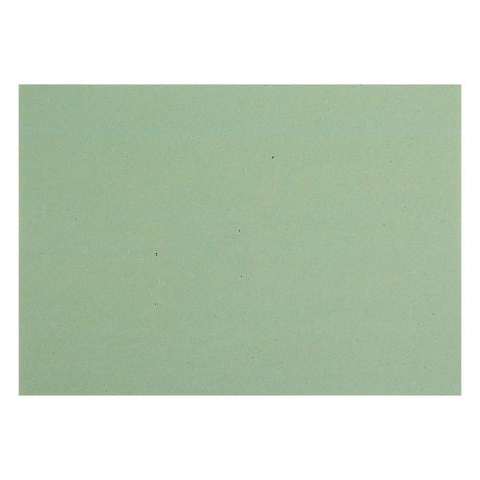 Картон переплетный 1.25 мм 21*30 см 800 г/м² синий двусторонний