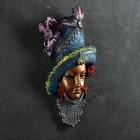 """Венецианская маска """"Леди в шляпе"""" МИКС  33см"""