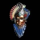 """Венецианская маска """"Рубин"""" 32см МИКС"""