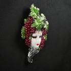 """Венецианская маска """"Виноград""""  30см"""