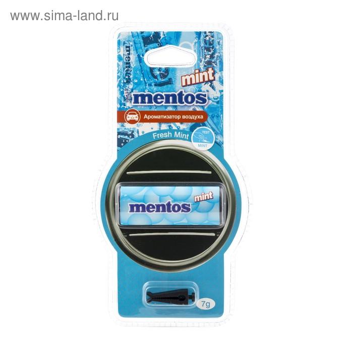 Ароматизатор воздуха MENTOS Мята, на дефлектор, мембранный, 7 г