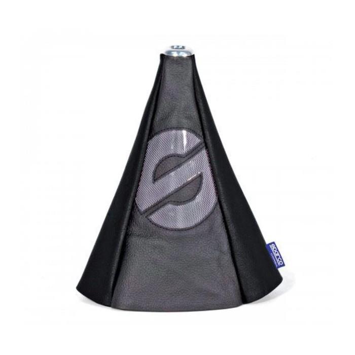 Чехол на рычаг механической КПП SPARCO, универсальный, чёрый