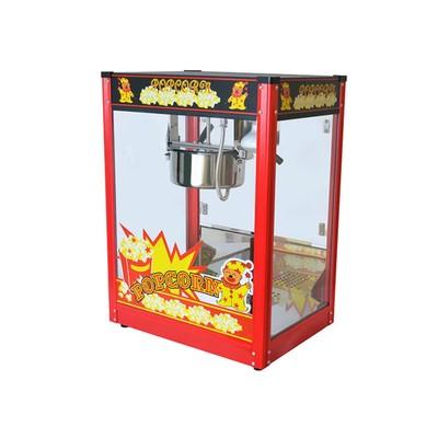 Аппарат для попкорна Gastrorag VBG-POPB-B, без канапе, 230 г, 1 котел/2 мин, красный/черный   323575