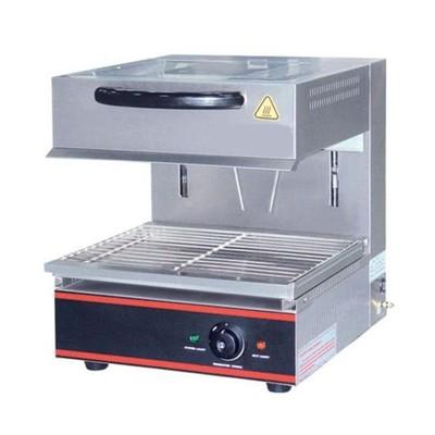 Гриль Gastrorag EB-EMH-450E, электрический, 1 зона нагрева, 50-300°С, серебристый
