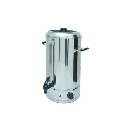 Кипятильник Gastrorag DK-WB-10, настольный, 10 л, открытый ТЭН, серебристый
