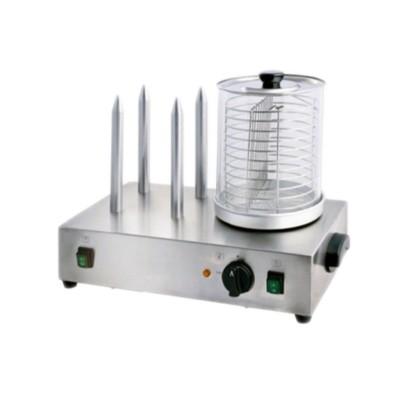 Мармит Gastrorag HDW-04, для сосисок и булок, электрический, серебристый