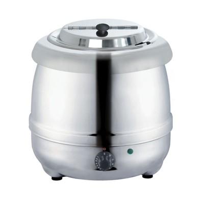 Мармит Gastrorag SB-5000S, электрический, настольный, для супов, 10 л, 30-90°С, серебристый   323586