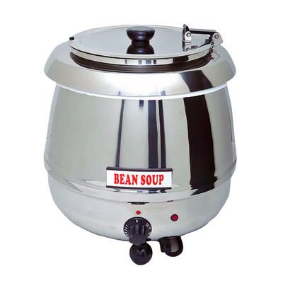 Мармит Gastrorag SB-6000S, электрический, настольный, для супов, 10 л, 30-90°С, серебристый   323587