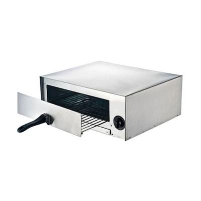 Печь для пиццы Gastrorag EPZ-02, электрическая, 1 модуль, 2 нагрева, 60-260°С, серебристый