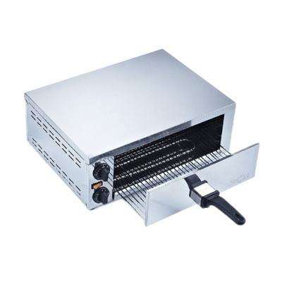 Печь для пиццы Gastrorag EPZ-04, электрическая, 1 модуль, 2 нагрева, 60-300°С, серебристый