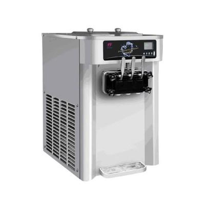 Фризер мороженого Gastrorag SCM1119ARB, настольный, 2 резервуара, 6.5 л, 20-24 л/ч, серебристый   32
