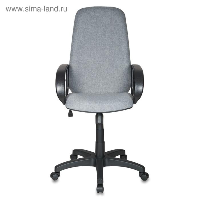 Кресло руководителя Бюрократ CH-808AXSN/G, тёмно-серый